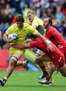 Liam Gill Australia v Wales Commonwealth Games 2014