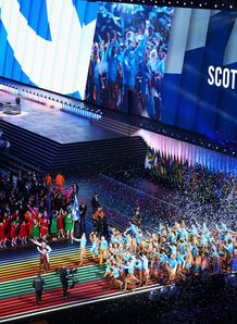 Scotland at the Commonwealth Games opening ceremony