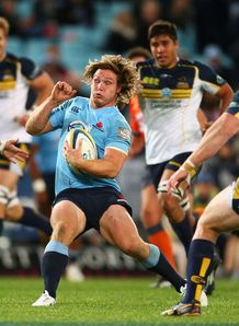 Waratahs flanker Michael Hooper against the Brumbies