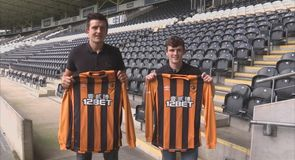 Double signing for Hull City
