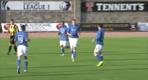 East Fife 0-4 St Johnstone