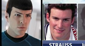Is Andrew Strauss Mr Potato Head or Spock?