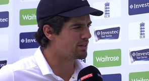 Cook relieved after draw