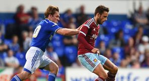 West Ham draw at Ipswich