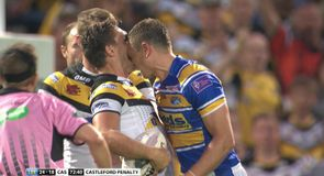 Kevin Sinfield sent off