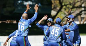 Afghans win, series shared
