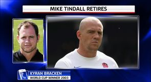 Mike Tindall retires