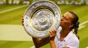 Kvitova claims second Wimbledon title