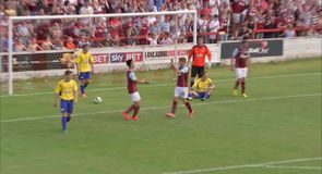 Accrington 0-1 Burnley - Highlights
