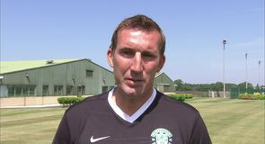 Stubbs looking forward with Hibs