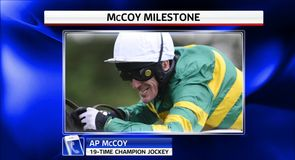 McCoy reaches another milestone