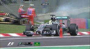 Another disaster for Hamilton