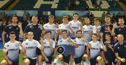 Blues clinch Premiership 7s round