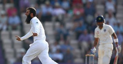 Third Test: England take four wickets after setting India 445 to win