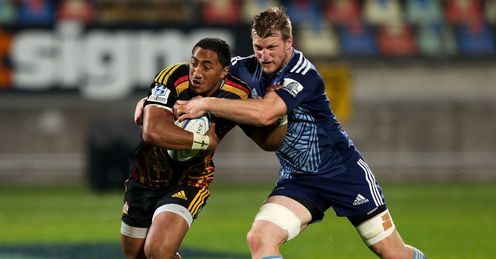 Bundee Aki Chiefs v Blues SR 2014