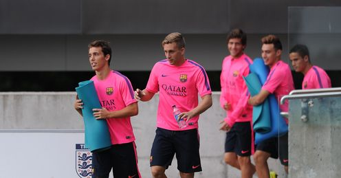 Balague: Barca training tough