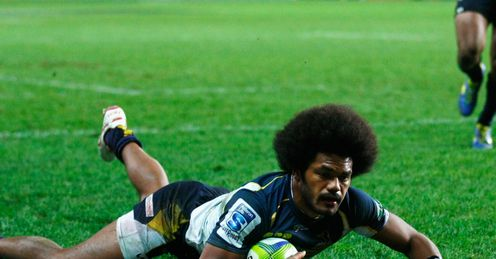 HENRY SPEIGHT BRUMBIES TRY