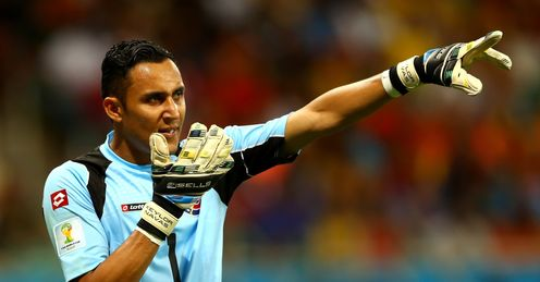 Navas future up in the air