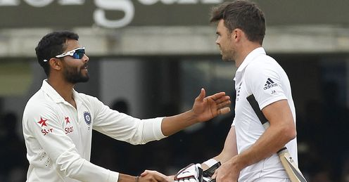 Ravindra Jadeja and James Anderson: why can't they sort it out like adults?