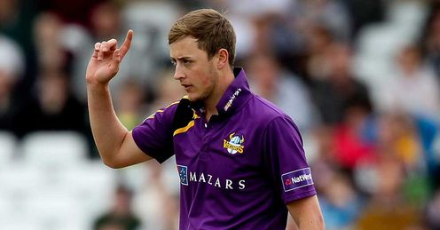 Robinson axed by Yorkshire