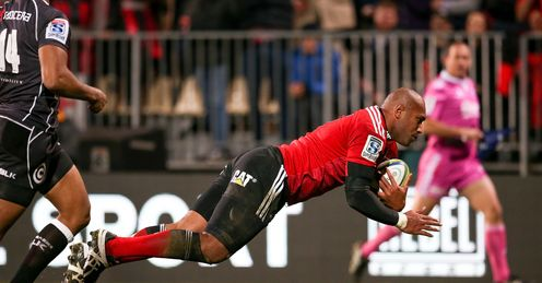 UNION Nemani  Nadolo Super Rugby Crusaders