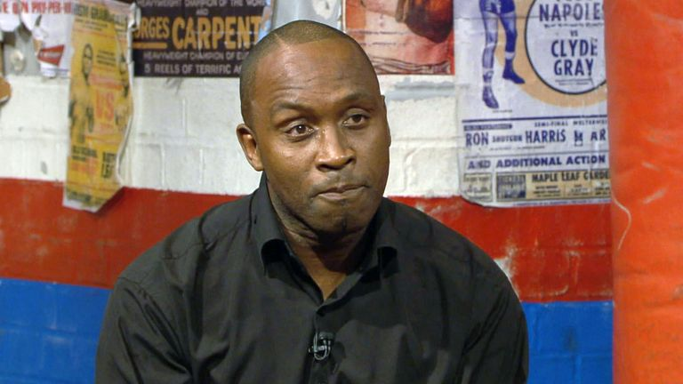 Nigel Benn talks about his son Conor who is now turning his hand to boxing.