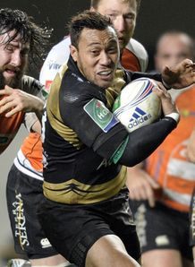 Anthony Tuitavake C European Cup Montpellier vs Treviso