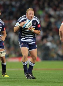 Brok Harris in action for the Stormers