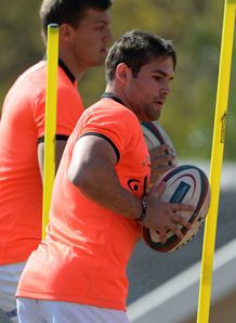 Cobus Reinach South Africa training session