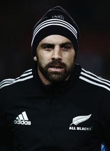 Conrad Smith All Blacks training 2014