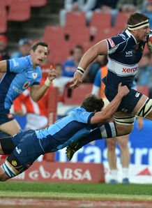 Derick Minnie of the Lions Currie Cup v Blue Bulls