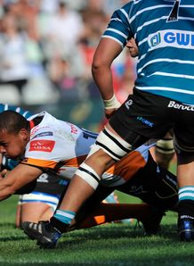 Elgar Watts try Free State Cheetahs Currie Cup v Griquas