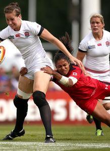 Emily Scarratt England v Canada RWC 2014