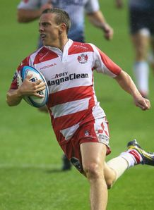 Gloucester player Steph Reynolds