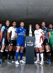 guinness pro12 launch 2014