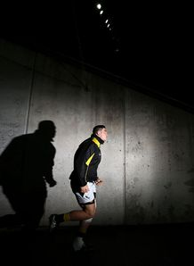 Jeffery Toomaga Allen running out for Wellington