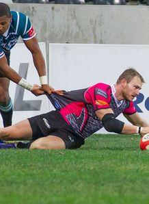 Jerome Pretorius try Currie Cup Pumas v Griquas