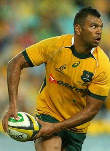 Kurtley Beale Australia v New Zealand RC 2014