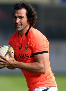 Victor Matfield Boks training 2014