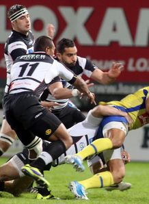 Welsey Fofana Brive v Clermont Top 14 2014