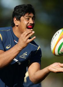 Will Skelton Wallabies training RC 2014