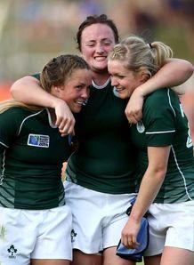 MATEY ireland women rugby Ailis Egan (centre)