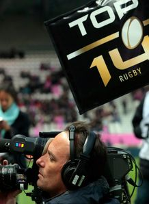 top 14 rugby cameraman