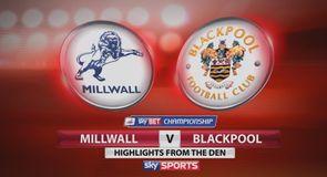Millwall 2-1 Blackpool