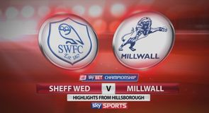 Sheff Wed 1-1 Millwall