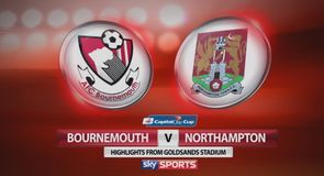 Bournemouth 3-0 Northampton