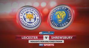 Leicester 0-1 Shrewsbury