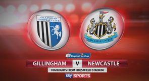 Gillingham 0-1 Newcastle