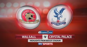 Walsall 0-3 Crystal Palace