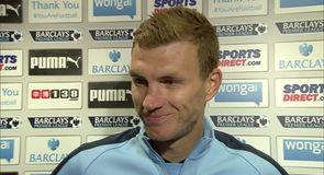 Dzeko: We deserved the win